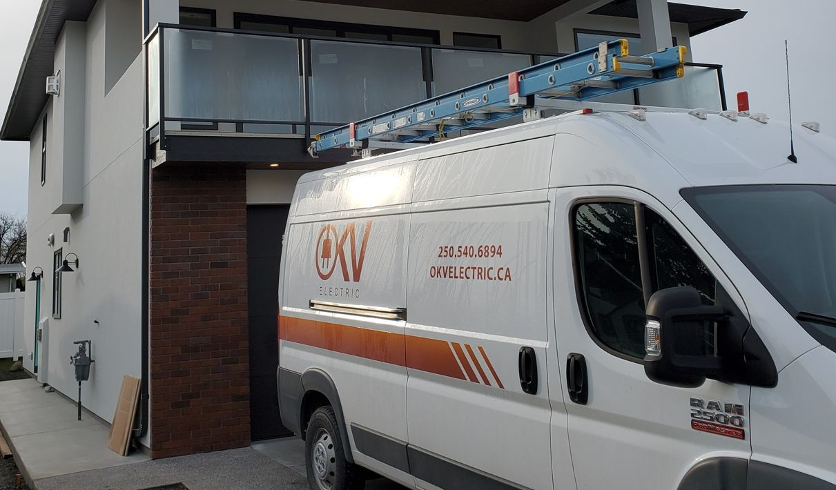 OKV van at redisential site